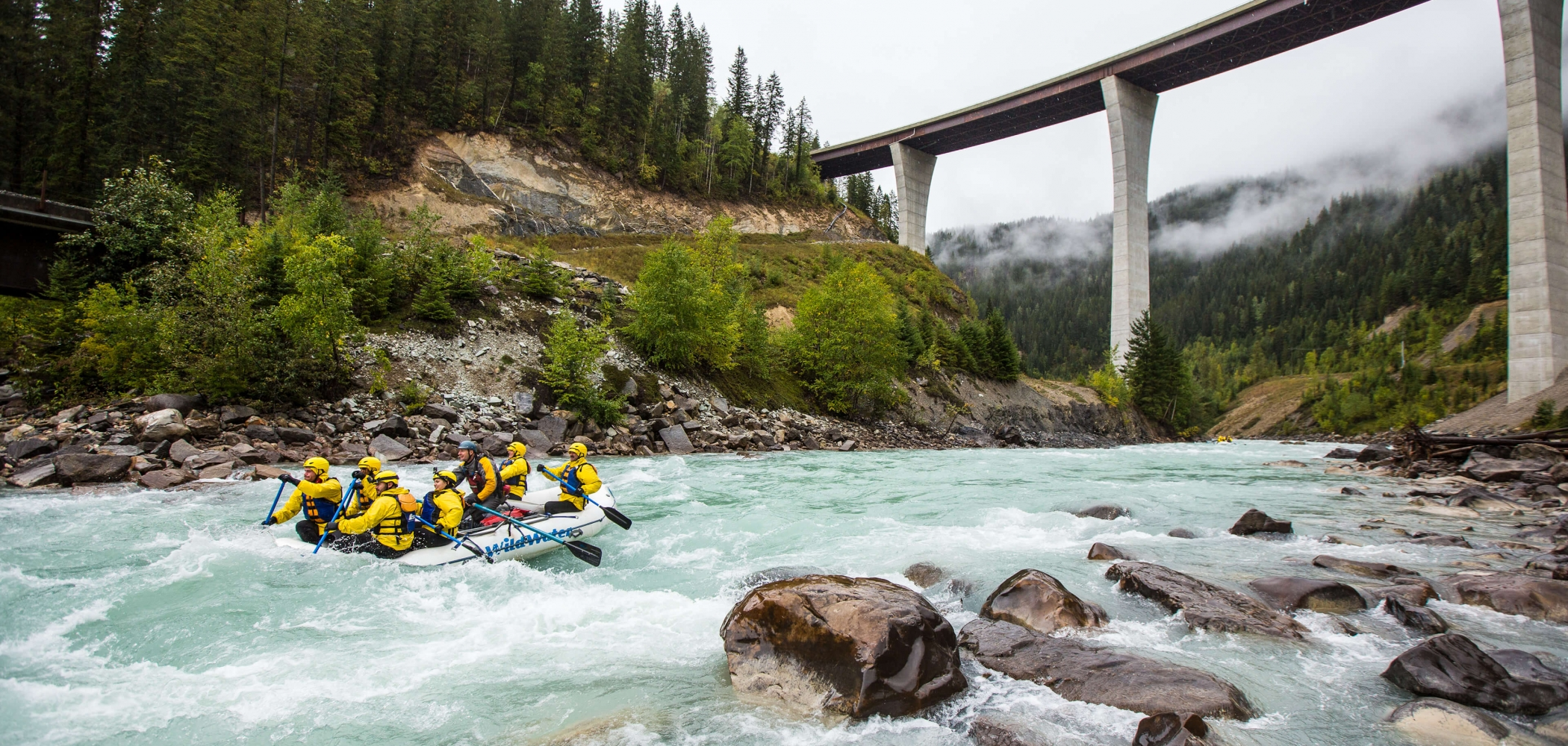 River Rafting in BC Canada