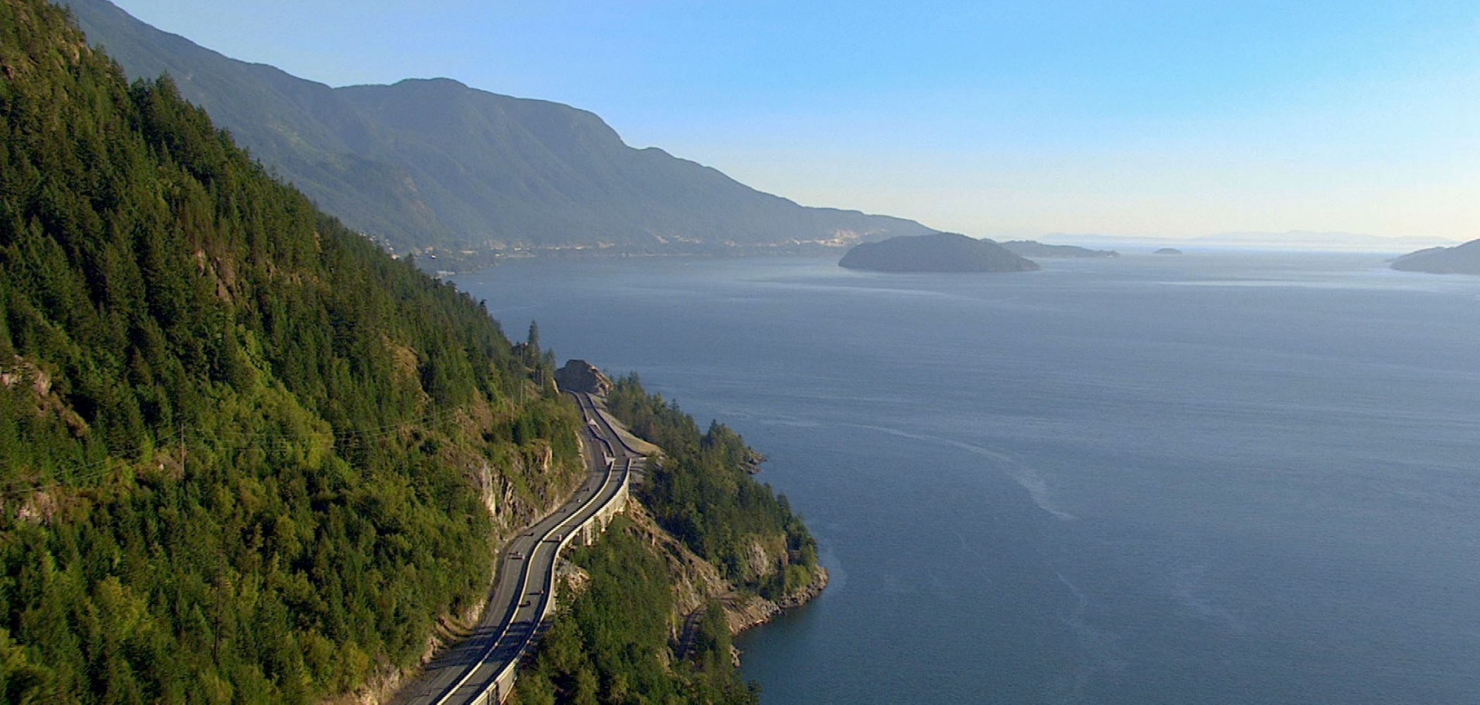 Sea to Sky highway, BC