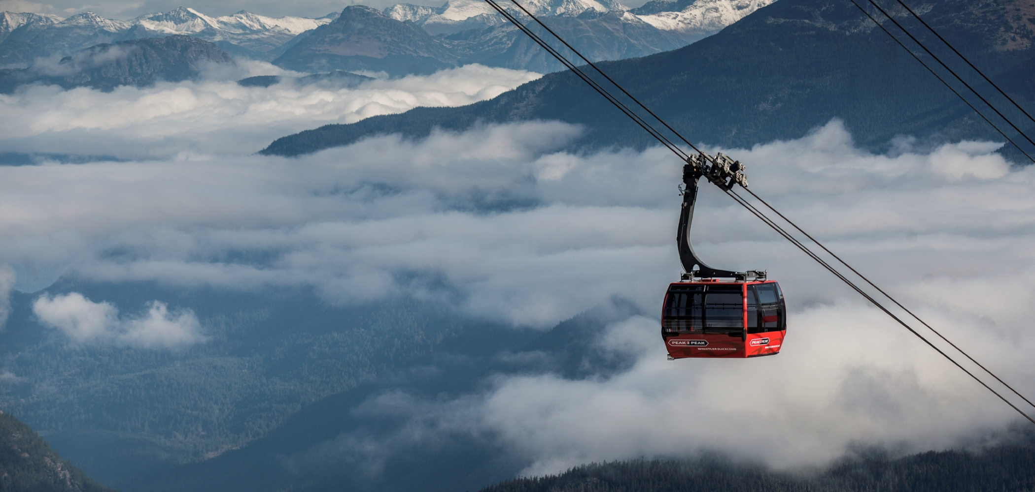 Peak to Peak Gondola in Whistler