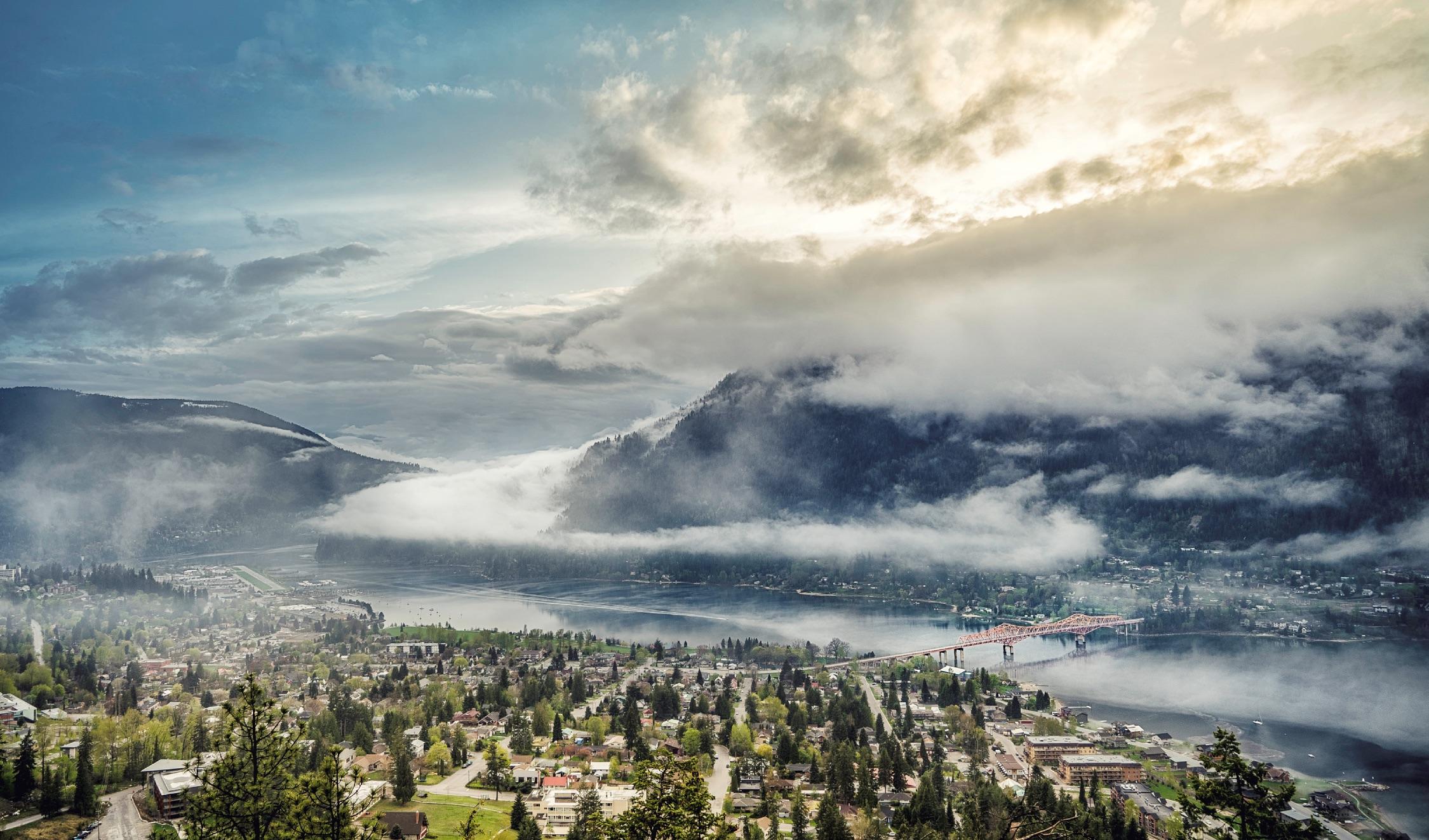 View of Nelson and Kootenay Lake | Ryan Dury