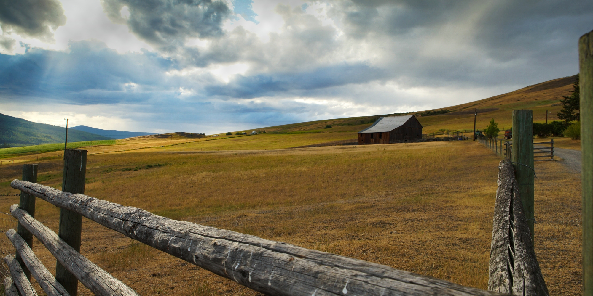 Farm near Rock Creek